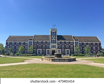 Loughborough - July 19: loughborough university campus landscape, on July 19, 2016, loughborough, UK.