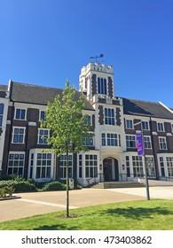 Loughborough - July 19: loughborough university campus landscape, on July 19, 2016, loughborough, UK.