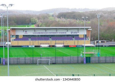 Loughborough/ UK - 03.03.19 : Loughborough University Campus sport fields