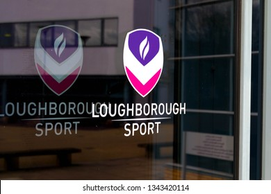 Loughborough/ UK - 03.03.19 : Loughborough University Sport  Buildings campus United Kingdom