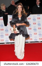 Louise Thompson arriving for the National Television Awards 2013, at the O2 Arena, London. 23/01/2013 Picture by: Alexandra Glen