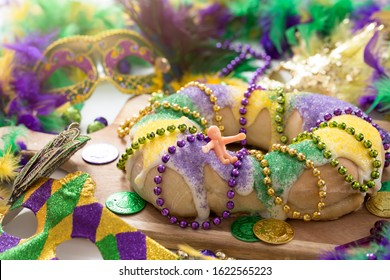 Louisiana Mardi Gras King Cake