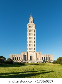 Louisiana State Capitol building in Baton Rouge, Louisiana