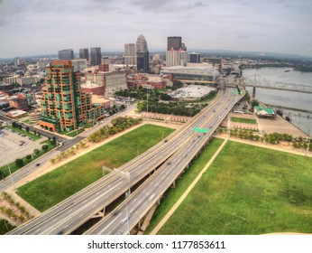 Louisville, is a city on the Ohio River border between Kentucky and Indiana