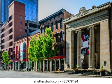 LOUISVILLE, KENTUCKY, USA - MAY 22, 2016 - Actors Theater of Louisville presents almost 400 performances a year including hosting the Humana Festival of New American Plays.