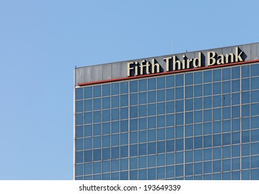 LOUISVILLE, KY - OCTOBER 2: The Fifth Third Bank Building located in downtown Louisville, Kentucky on October 2, 2011. Fifth Third Bank is a U.S. regional banking corporation headquartered in Ohio.