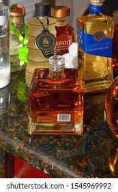Louisville KY, USA 10-26-19 Bottle of Tequila: Ayate Reposado Tequila. 750 ml