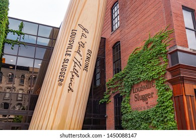Louisville Slugger Baseball museum and store - LOUISVILLE, KENTUCKY - JUNE 14, 2019