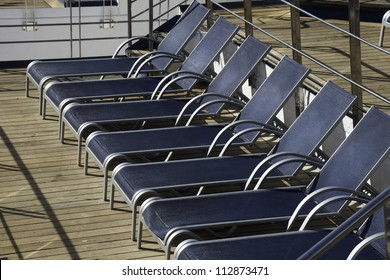 Lounging Chairs on Cruise ship
