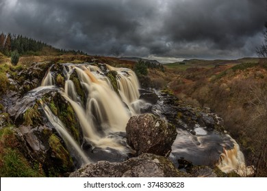 Loup of fintry waterfall