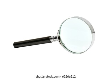 loupe isolated on a white