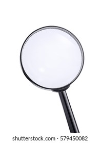 Loupe or Magnifying Glass isolated on white