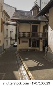 Lourdes, France June 24, 2019: The building of the Boly mill, in which Bernadette Soubirous was born and lived for the first 10 years of life, a girl who appeared to Our Lady in Lourdes in France
