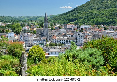 Lourdes is a major place of Roman Catholic pilgrimage. It is a small market town lying in the foothills of the Pyrenees.