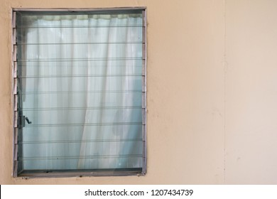 Louver window for background.