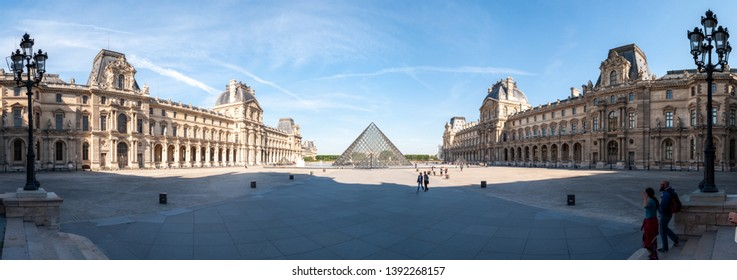 Louvre Museum, Paris, France - July 15, 2016