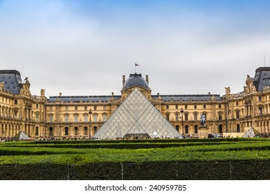 The Louvre is one of the world's largest museums  in Paris