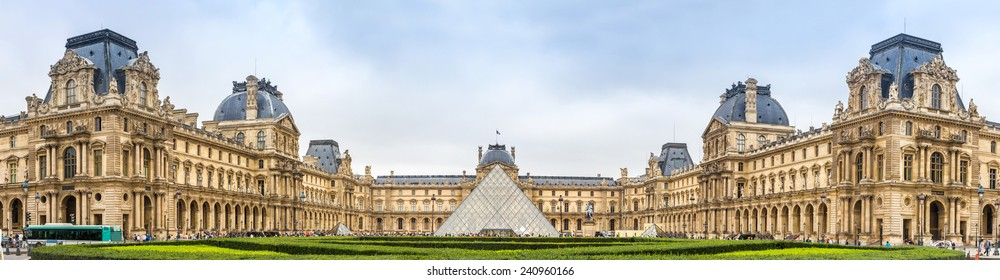 The Louvre is one of the world's largest museums and a historic monument in Paris