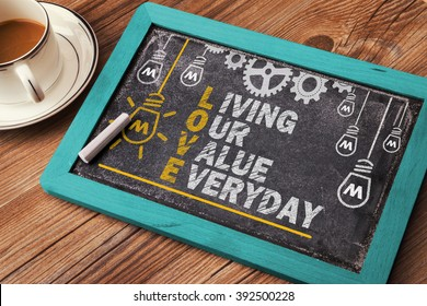 Love Acronym: living our value everyday