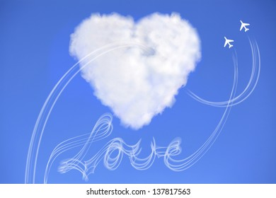 Love is in the air with cloud