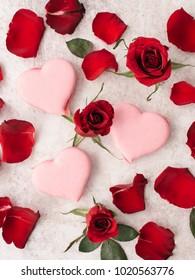 love cake for valentine day