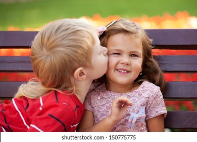 Royalty Free Kids Kissing Stock Images Photos Vectors Shutterstock