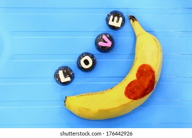 Love is easy like eating banana