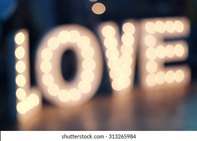 Love inscription from the Light