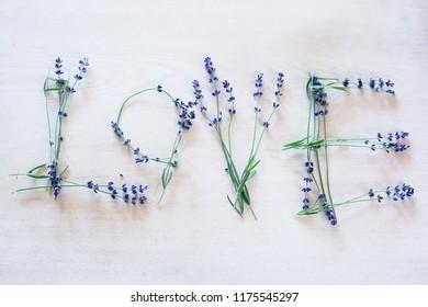 LOVE lavender flowers