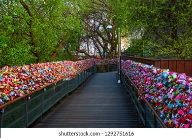 Love Locks at Namsan Seoul Tower, Seoul, South Korea