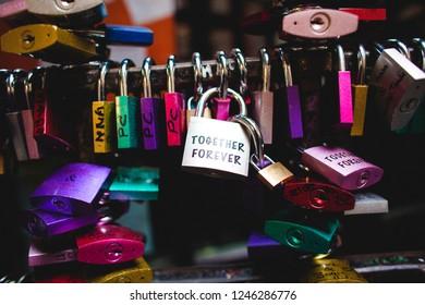 Love locks, Saint Valentines day