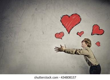 In love man