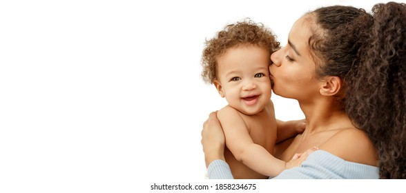 Love of a mother and baby. Family in the house. Lifestyle - Shutterstock ID 1858234675