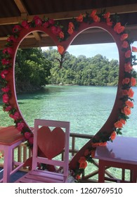 Love is on the beach, Ambon Indonesia