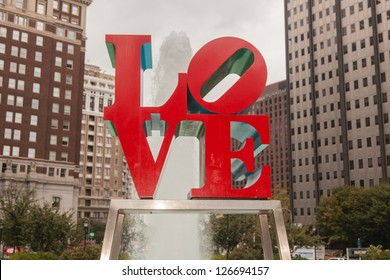 Love Park is a plaza located in Center City, Philadelphia, Pennsylvania.