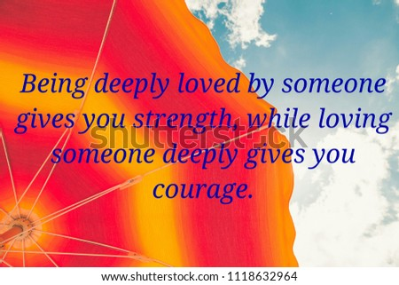 Love Quotes Special Someone Stock Photo Edit Now 1118632964