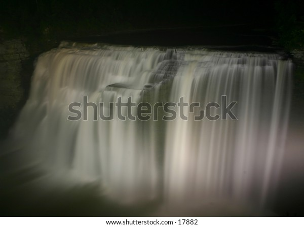 """I love shooting waterfalls.  I think it's my number one favorite subject.  Anyways, this is """"Middle Falls"""" at Letchworth State Park - but I think it needs a new name, so """"Dream Falls"""" it is."""