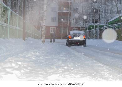 love and snowfall