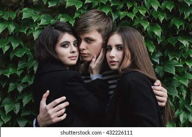 Love Triangle Images, Stock Photos & Vectors | Shutterstock