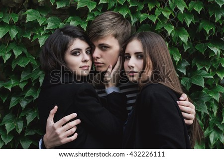 Can a man be in love with two women