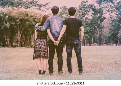 Love Triangle Images Stock Photos Vectors Shutterstock