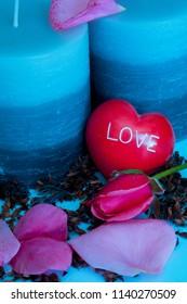 Love Valentine Candles
