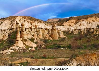 Love valley near Goreme, Turkey