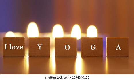 I love yoga, yoga exercise