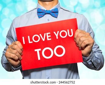 Too love i I Too