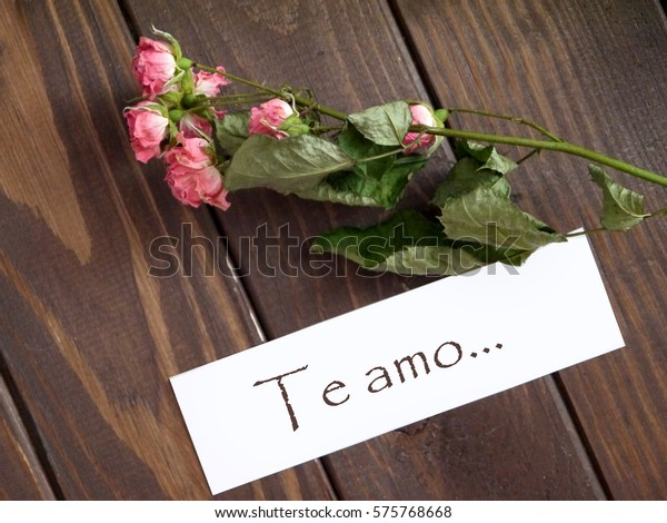 Love You Love You Spanish Language Stock Photo Edit Now -1321