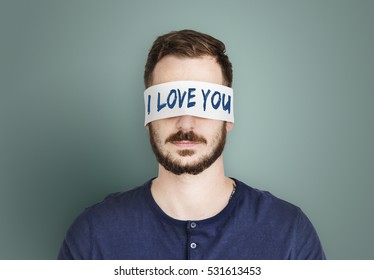I Love You Word Concept