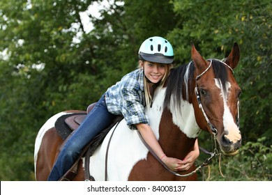 Love your horse with a hug