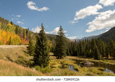 Loveland Pass and Beaver Dam in the Fall