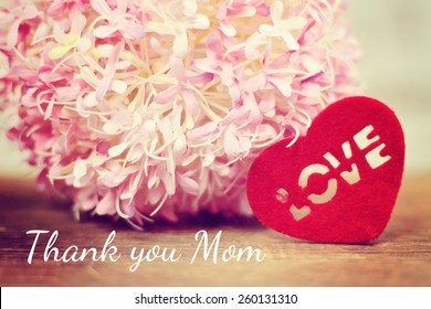 lovely background - german for thank you mom